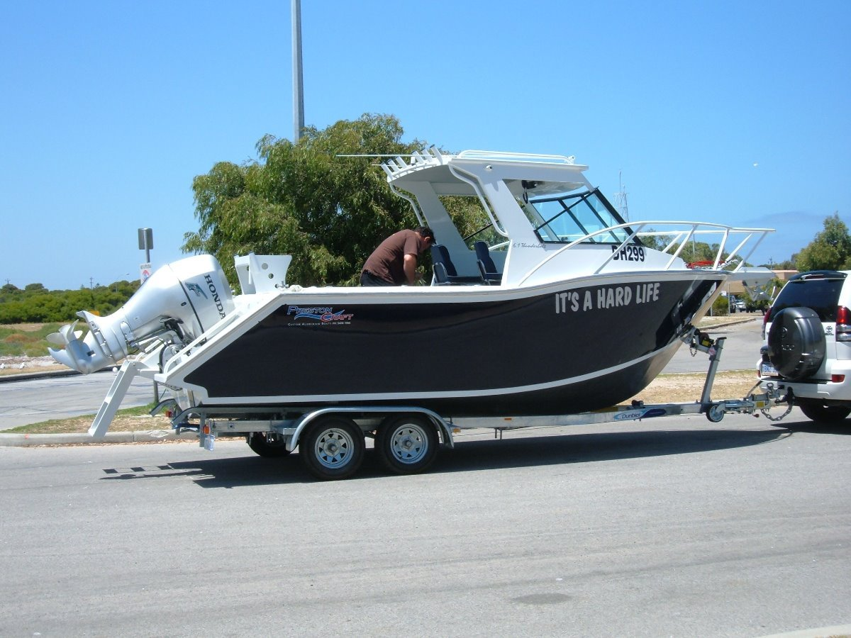 Preston Craft 6.1m Cuddy