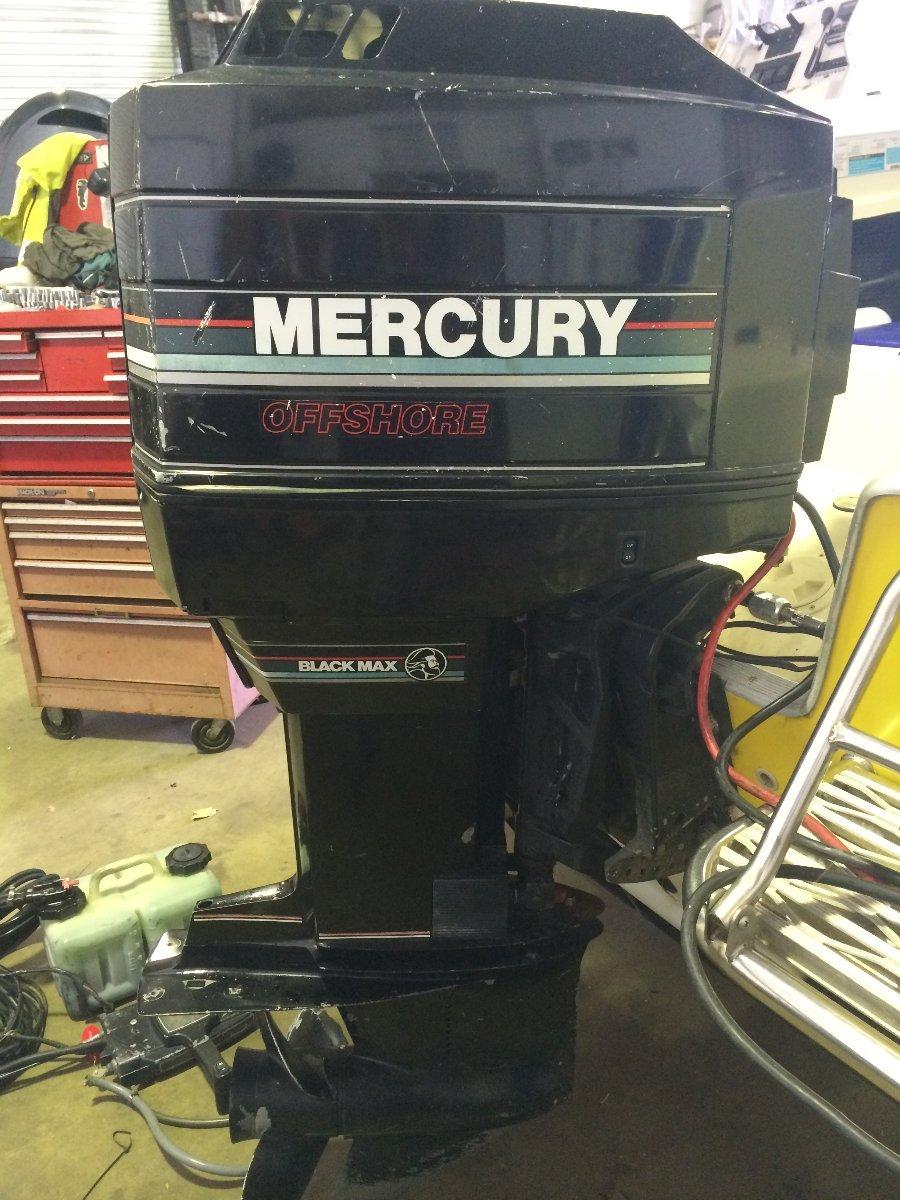 MERCURY 200HP V6 OIL INJECTED 2 STROKE LONG SHAFT 1993