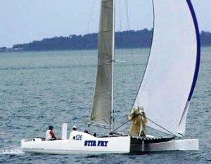 Ballistic 31 Trailerable Sailing Catamaran:Ballistic 31 Trailerable Sailing Catamaran