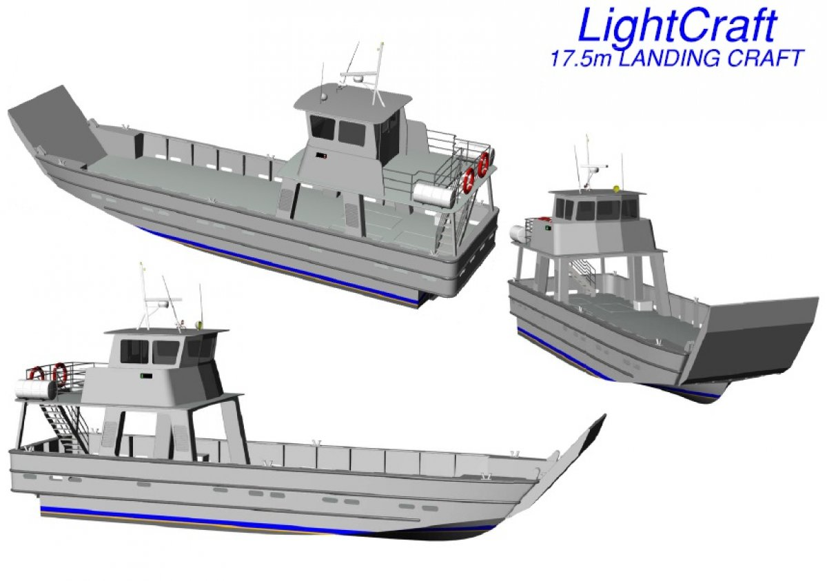 0588363f36 New 17.5m Landing Craft for Sale
