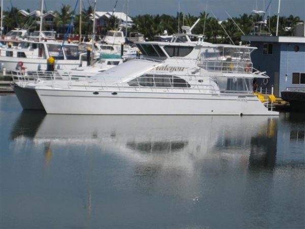 Turncraft 63 Catamaran