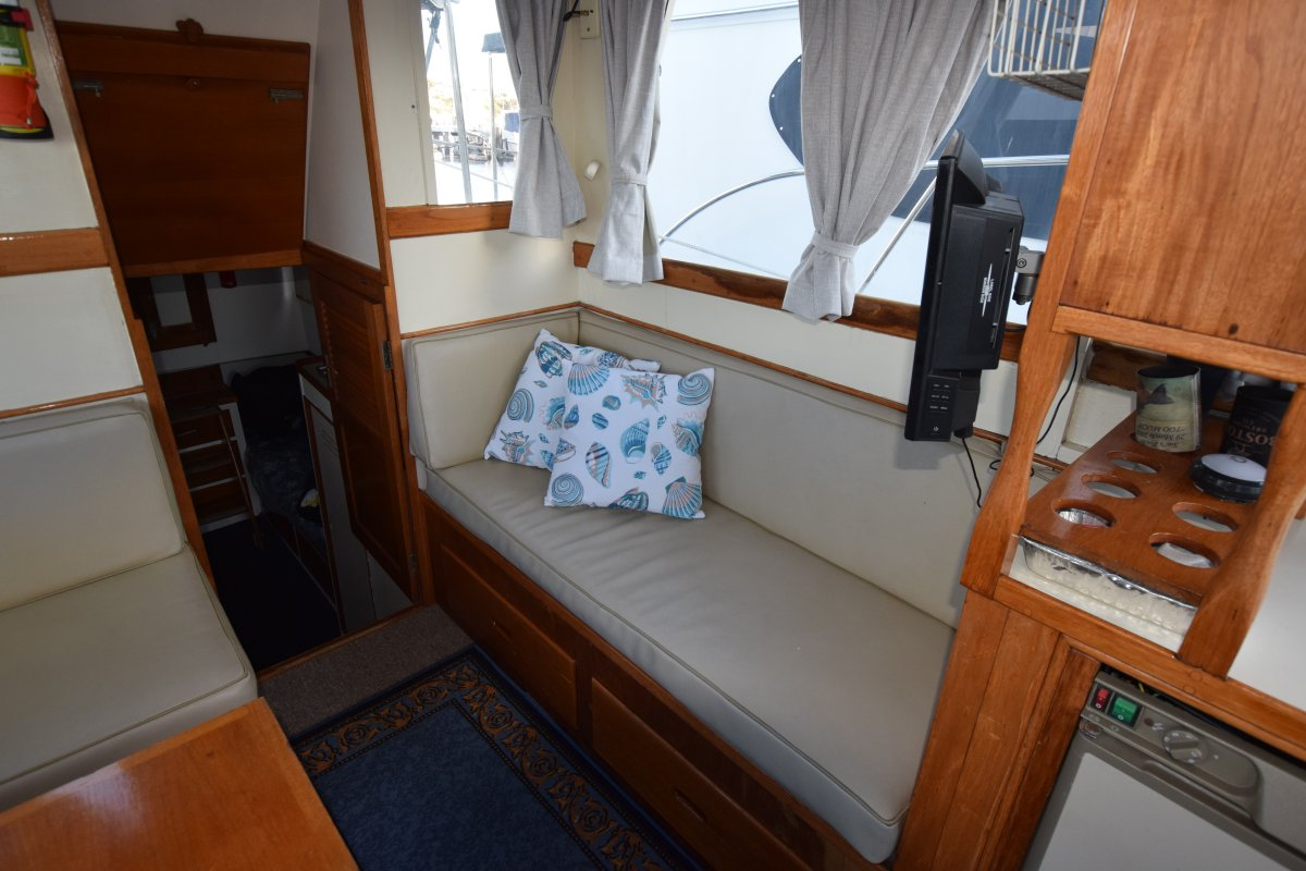 Grand Banks 36 twin diesel aft cabin