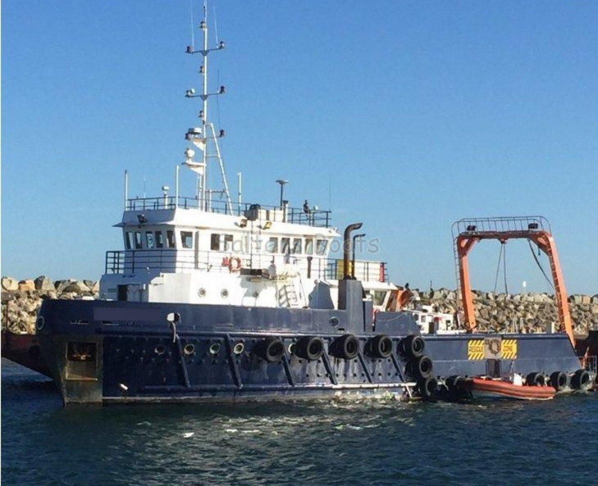 Custom 34.9m x 8.5m Offshore Utitlity Vessel