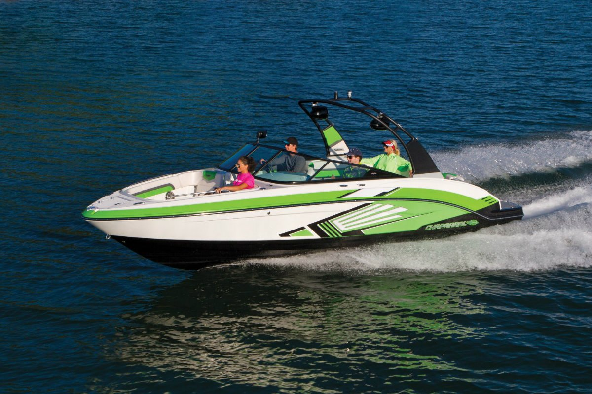 Chaparral Bowrider VRX Vortex Jet Boat Twin Engine