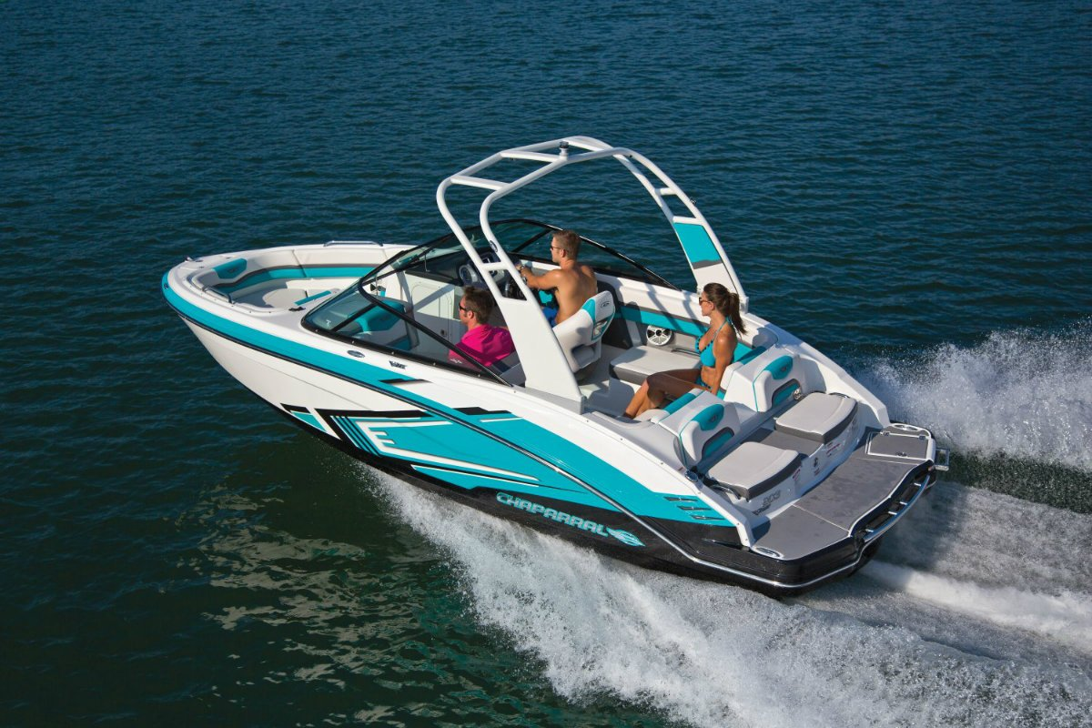 New Chaparral 203 Vrx Jet Bowrider: Power Boats | Boats ...