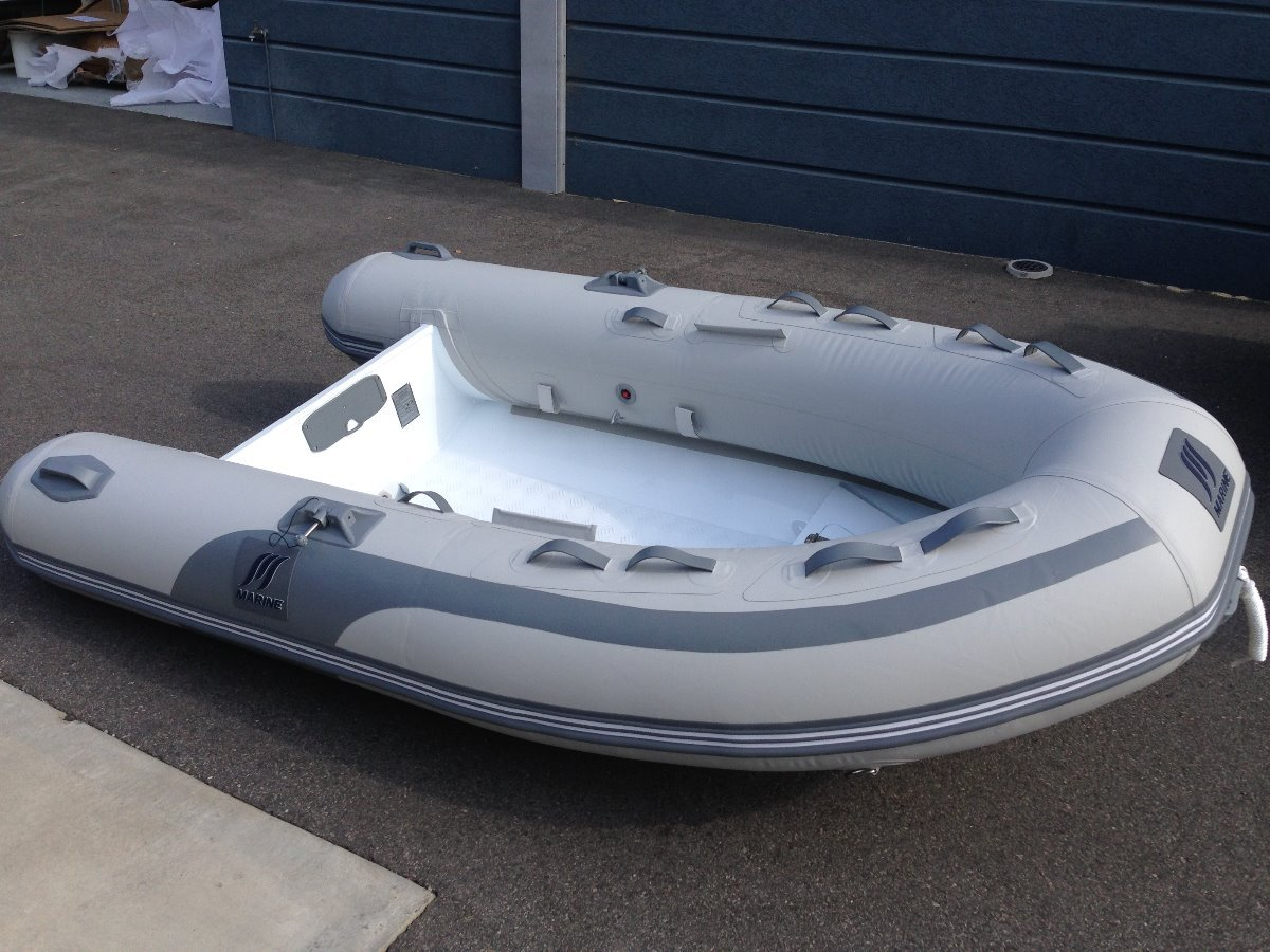 M Marine Inflatables / RIB 2.4 to 3.0 mtrs:2.7 Aluminium RIB ( or 2.4, 3.0 and 3.3)
