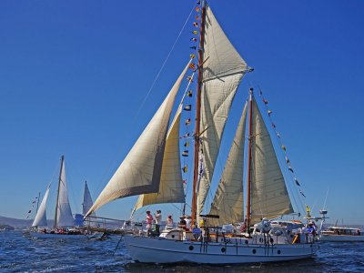 48' Classic Staysail Ketch