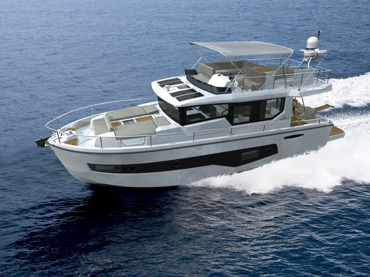 New Cranchi Eco Trawler 43 Long Distance: Power Boats