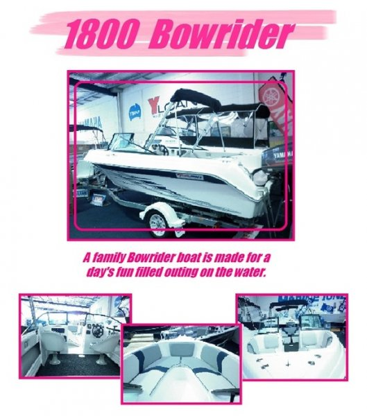 New Yalta Craft 1800 Bowrider