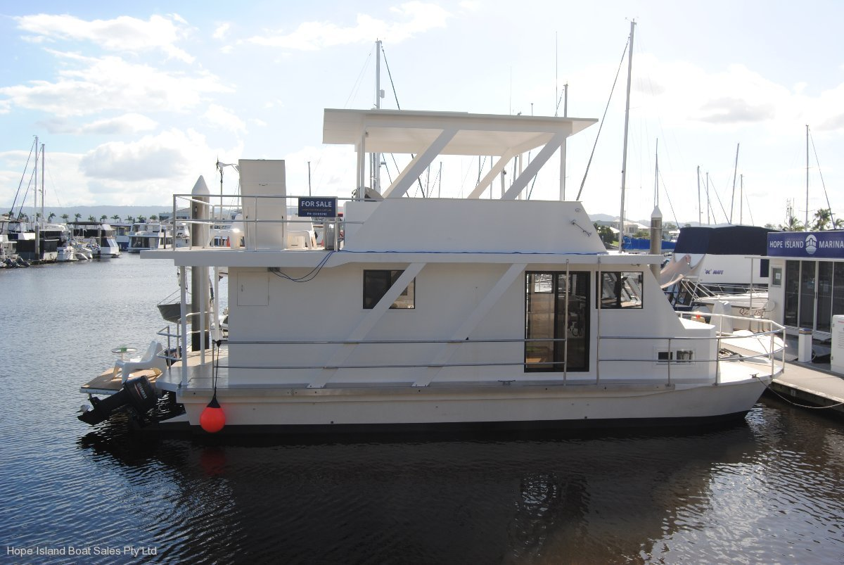 Twin Deck Catamaran Home Cruiser