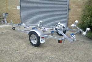 Boat Trailer AL4.8 Braked Version
