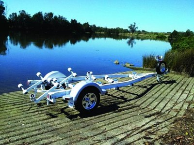 Aluminium boat trailer 5.4m