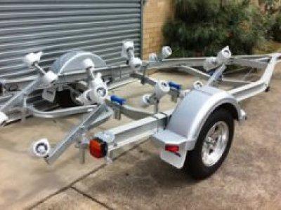 Aluminium Boat Trailer 5.5m