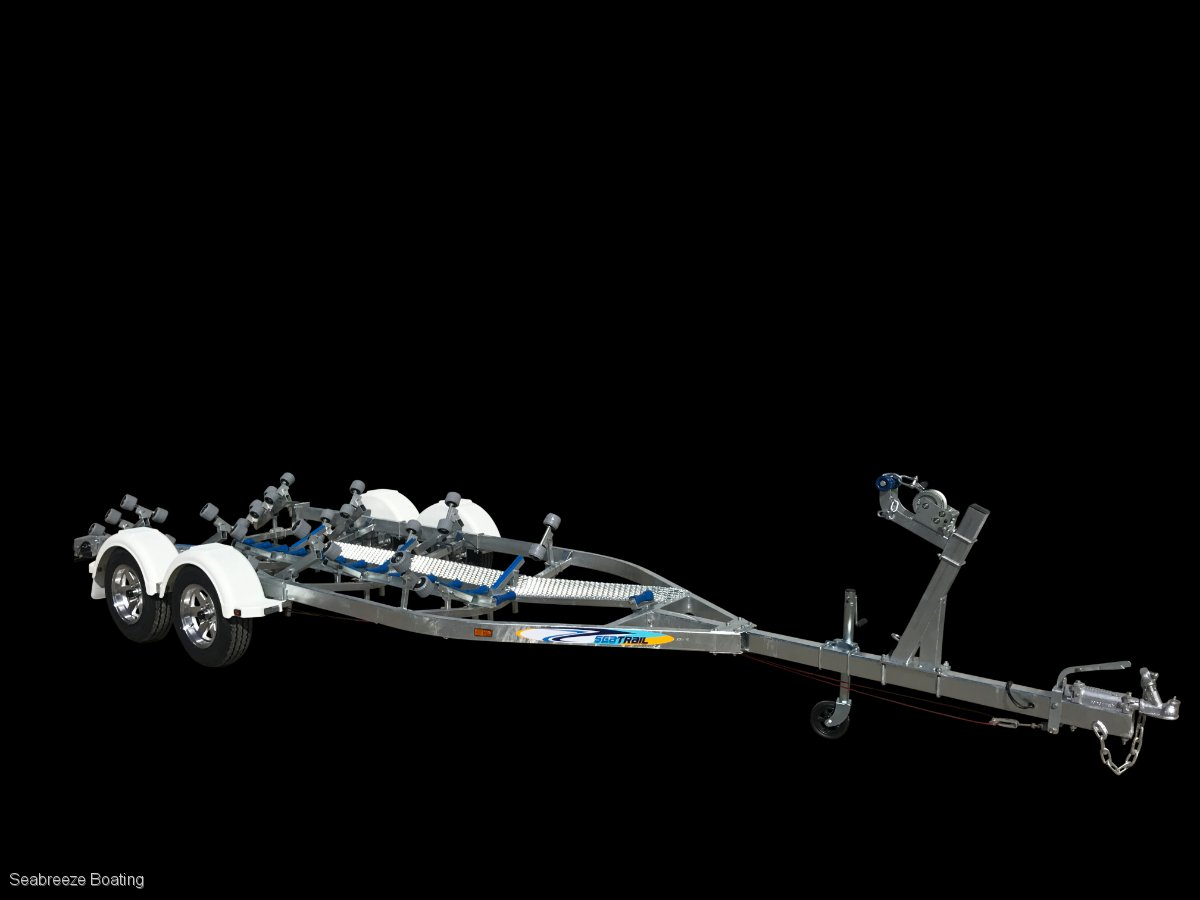 Boat trailer to suit 6.2m to 6.7m tandem axle