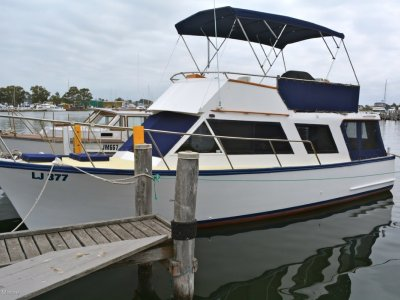Masters 34 Flybridge Timber Cruiser