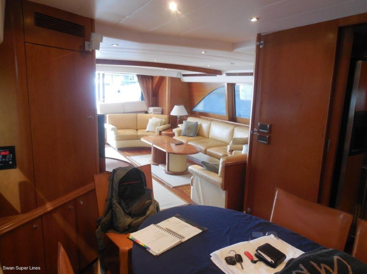 2800 Long range series motor yacht