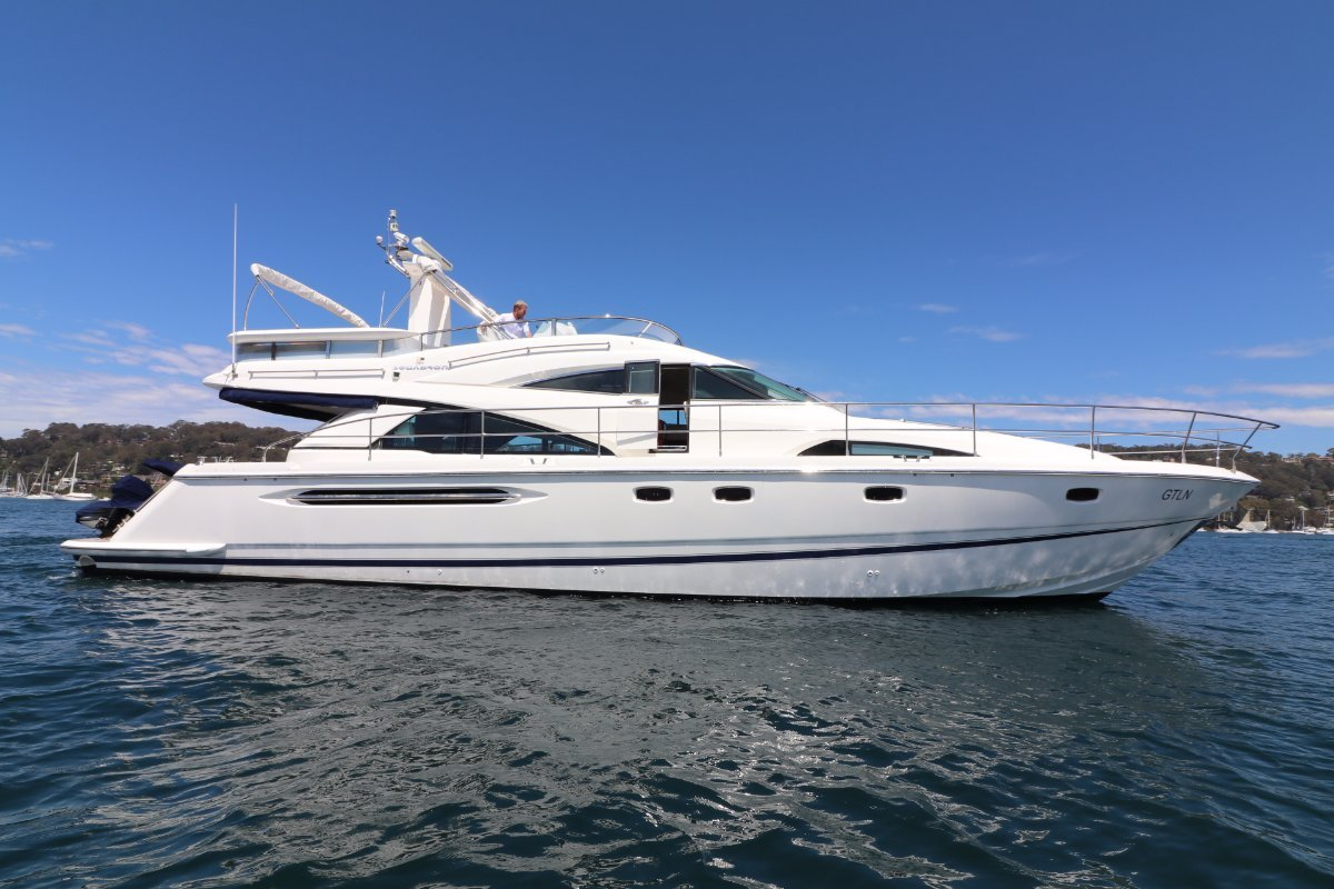 Used Fairline Squadron 58 for Sale | Boats For Sale | Yachthub