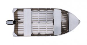 Stacer 359 Proline Short Shaft Tinnie/Dinghy Hull Only