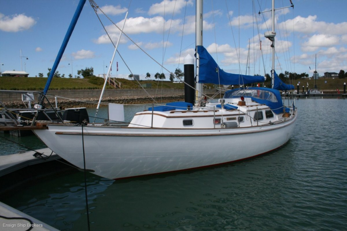 Custom 39' Timber Yawl