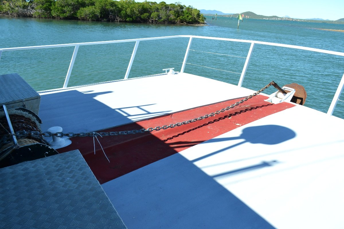 CUSTOM DESIGN AND BUILT 52FT ALLOY POWER CATAMARAN