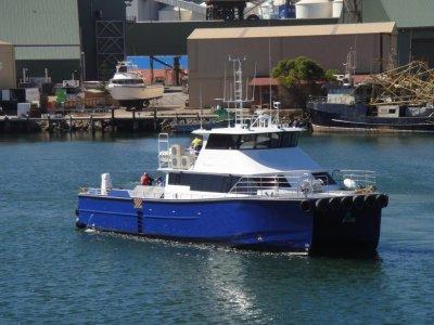21.7m Crew / Utility Vessel