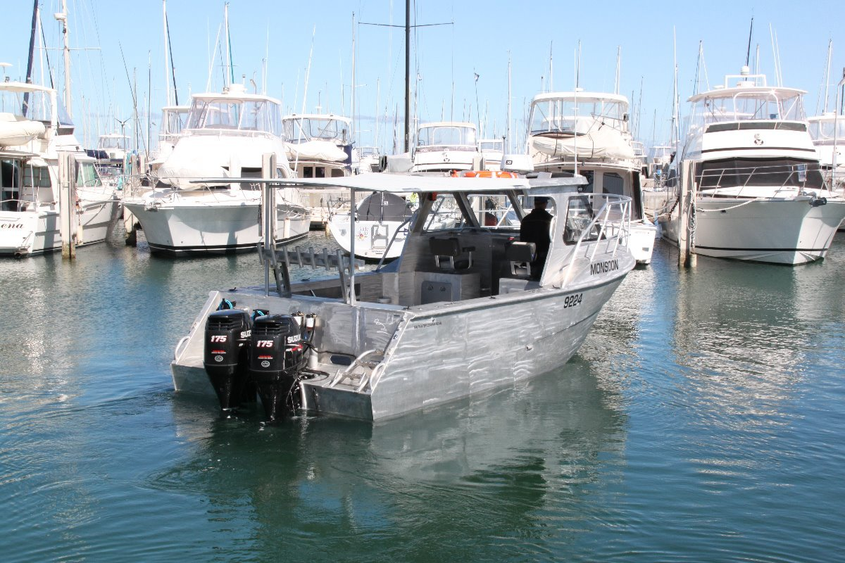 Saltwater Commercial Boats 8.0 Hardtop Saltwater Commercial Workboats