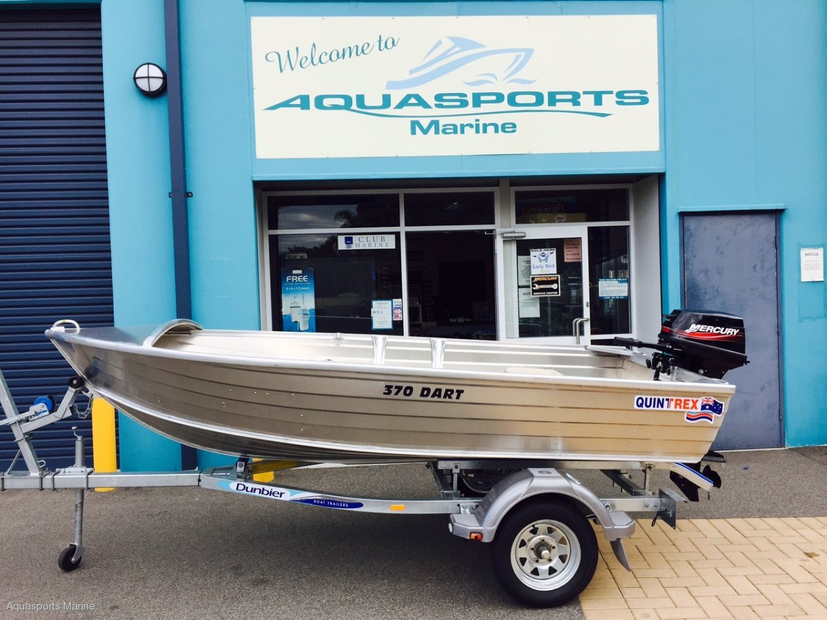 Quintrex 370 Dart Dinghy Package