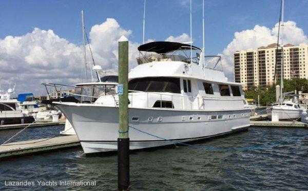 Hatteras Motor Yacht 63