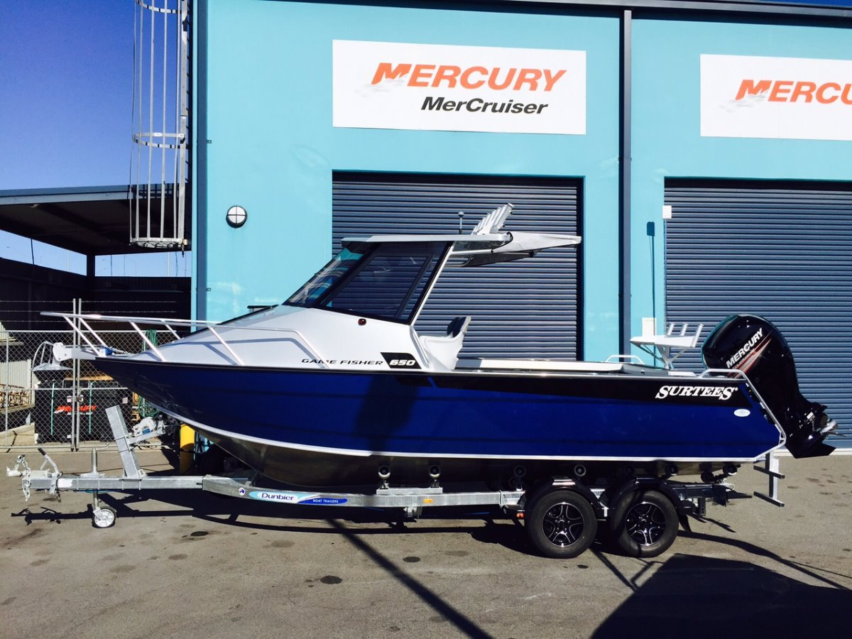 Surtees 650 Gamefisher Hardtop:New 650 Gamefisher model