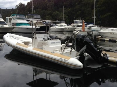 Ballistic 7.8 m The pacesetter in Rigid Inflatable Boats