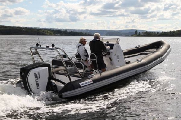 Ballistic 6.5 The Pacesetter in Rigid Inflatable Boats