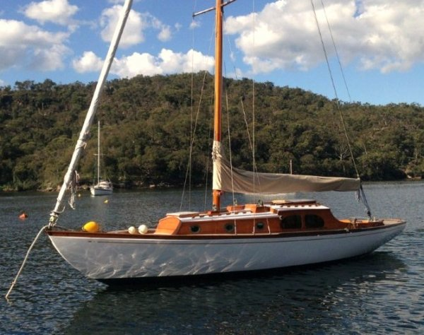 Griffin 34 Timber Yacht Sloop