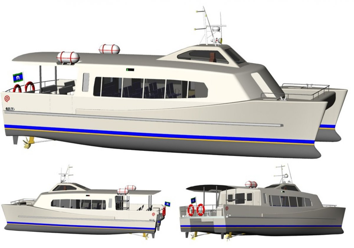 15.5m Coastal Catamaran Ferry