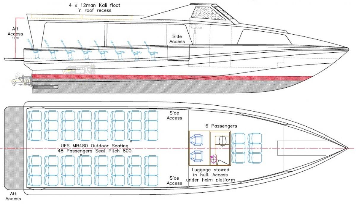 15.6m SRB Coastal Ferry