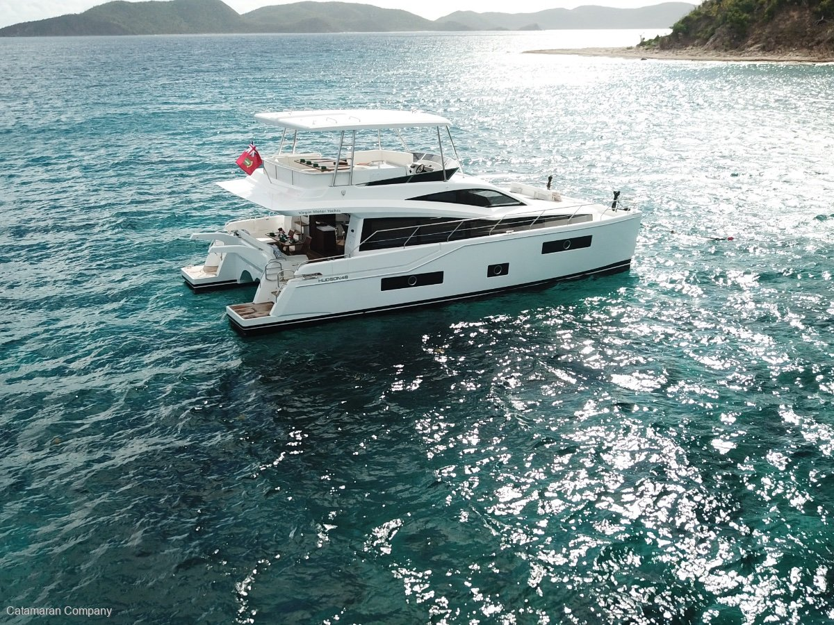 New Hudson 48 Power Catamaran New