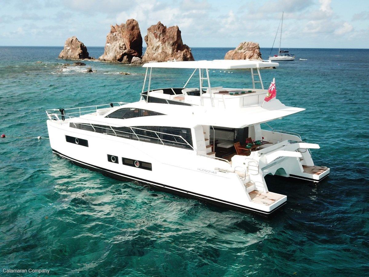 New Hudson 48 Power Catamaran New