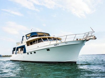 Marlow Yachts 72 custom flybridge