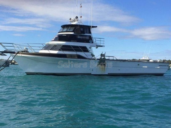 Marko 64' Commercial Charter/Multi-Purpose Fishing Vessel