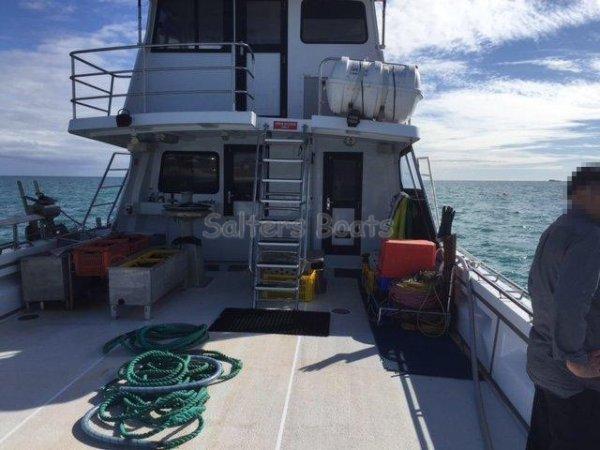 Marko Sambrailo 64' Commercial Charter/Multi-Purpose Fishing Vessel