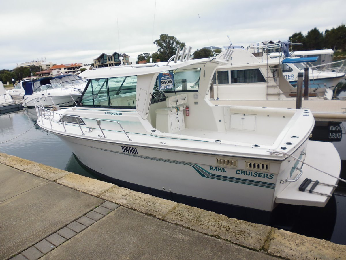 Baha cruisers sports fisher 313 power boats boats for Used sport fishing boats for sale