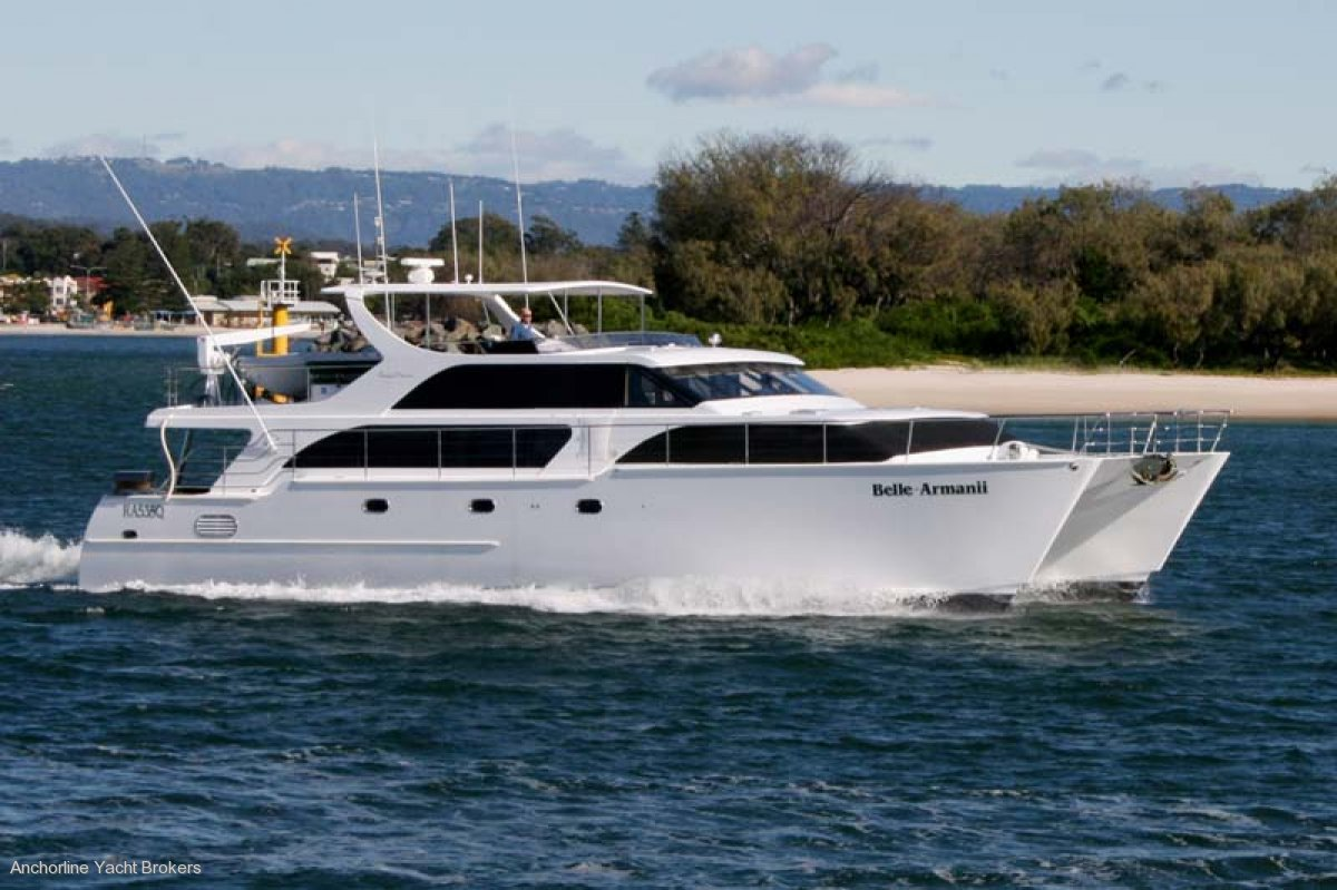Brady 61 Power Catamaran
