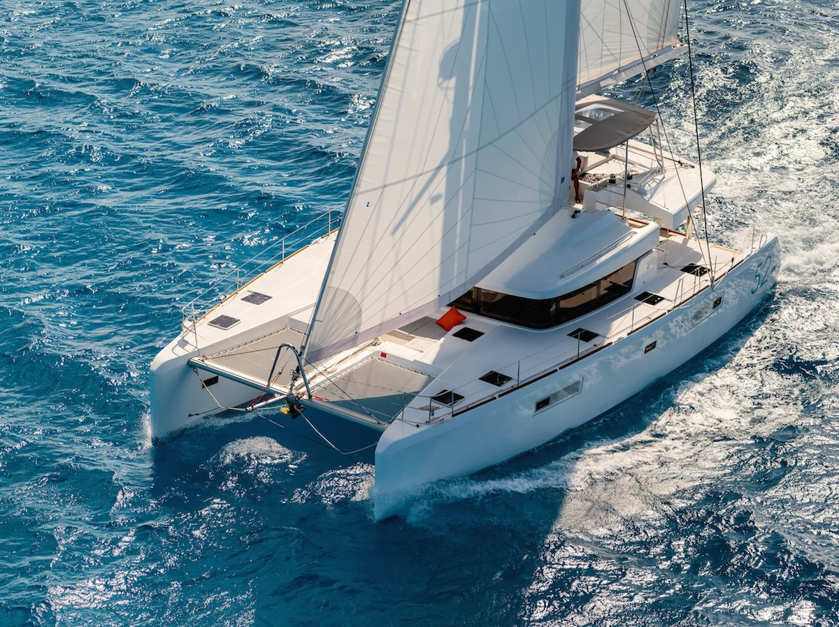 New Lagoon 52 Flybridge Sailing Catamaran For Sale