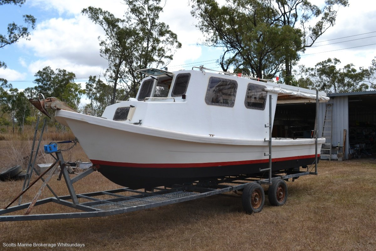 24FT EX SURVEY FISHING DORY