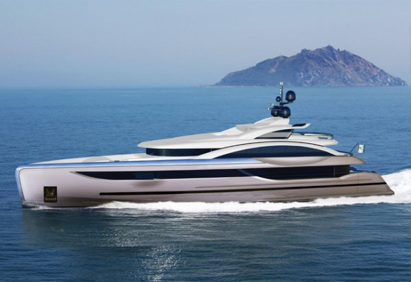 Long-range luxury 58m (190ft) motoryacht