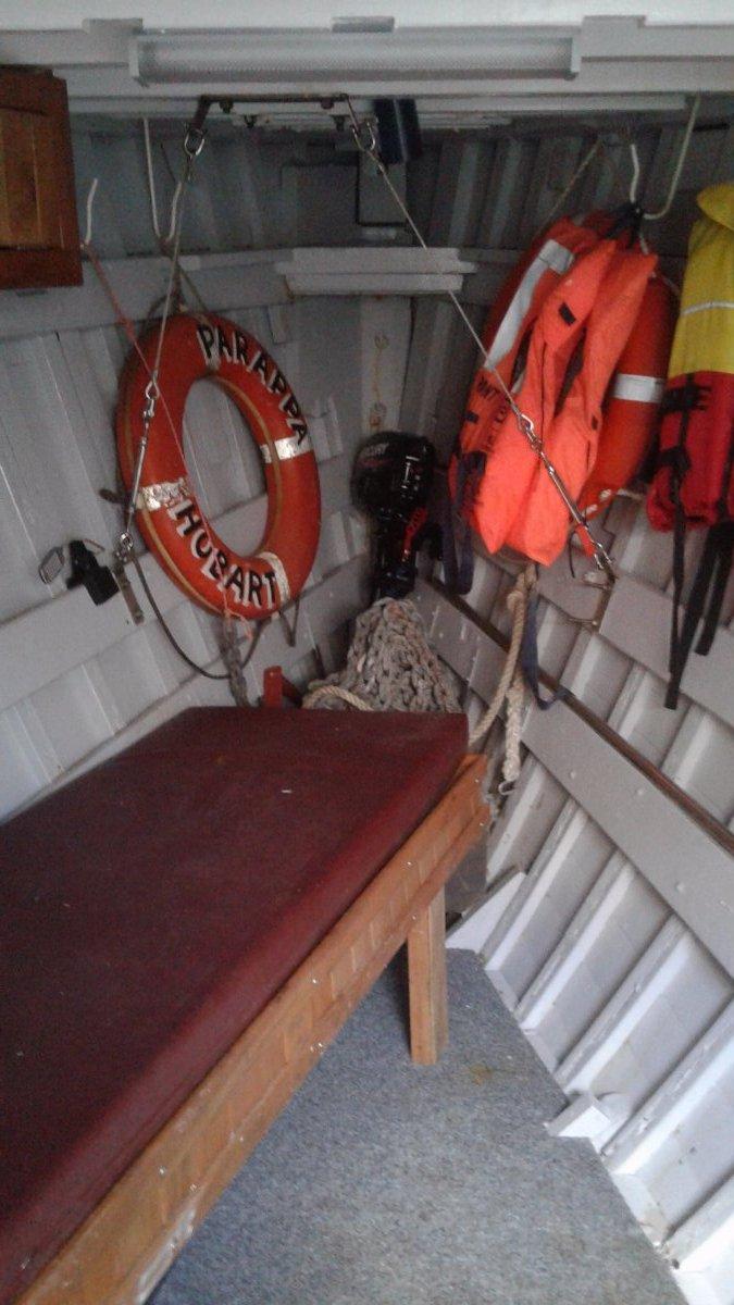 Vintage 50' Huon Pine Fishing Boat