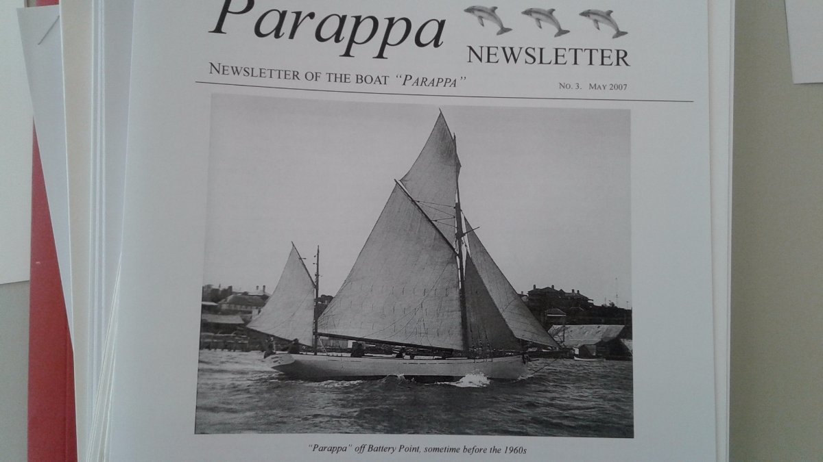 """Parappa"" - Vintage 50' Huon Pine restored MS"
