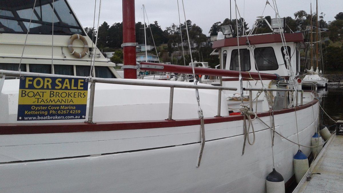 """Parappa"" - Vintage 50' Huon Pine Fishing Boat"