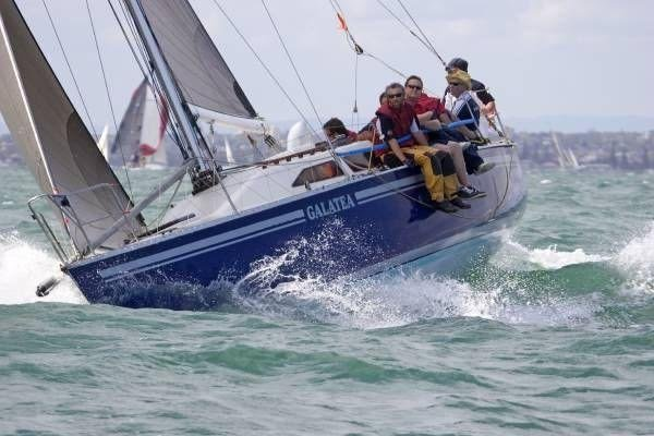 Swarbrick S111:port tack to windward
