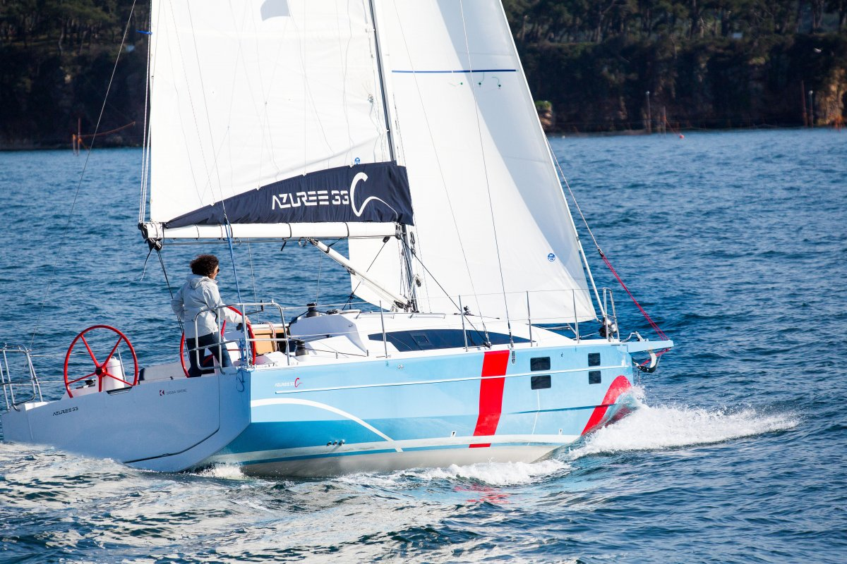 Azuree 33C - The Sailor's Yacht