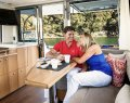 Riviera 57 Enclosed Flybridge:Sky Lounge